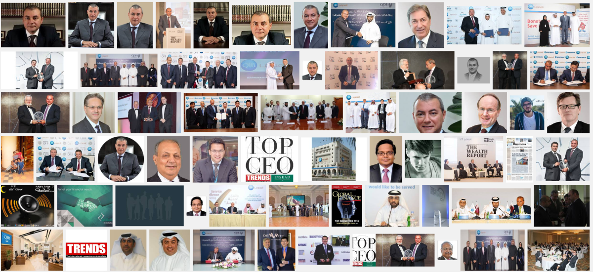 Bassel Gamal Qatar Investment Bank Top CEO Middle East